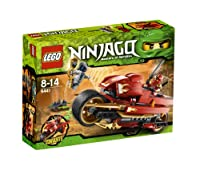 LEGO Ninjago Kai's Blade Cycle 9441 from ConstructivePlaythings