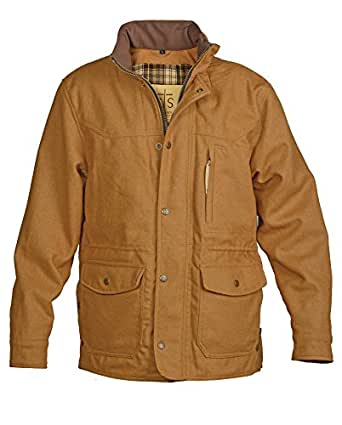Sts Ranchwear By Carroll Men's Smitty Camel Barn Jacket at Amazon Men