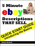 img - for Quick Start Guide -- 5 Minute eBay Descriptions That Sell book / textbook / text book