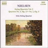 C.Nielsen<弦楽四重奏曲集2>弦楽四重奏曲第1・2番 オスロ弦楽四重奏団