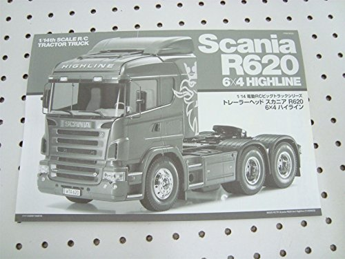 Tamiya Scania R620 1 14 Owners Instruction Assembly Manual