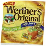 Werthers Original Sugar Free Caramel, Apple, 2.75-Ounce (Pack of 6)