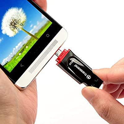 Transcend JetFlash 340 32 GB USB 2.0 OTG Pen Drive