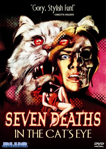 Cover art for  Seven Deaths in the Cat's Eye