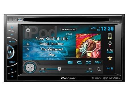 Pioneer AVH-X2600BT Vidéo Embarquée Fixe, 16:9 Bluetooth