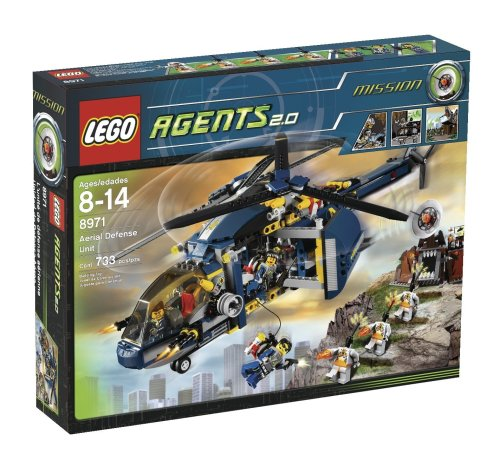 LEGO Agents 8971 - Bedrohung durch Kommandant Magma