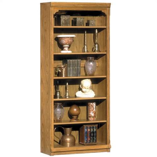 "Riverside Furniture 1534 Riverside Classics 72"" H Bookcase in Casual Light Oak"