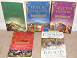 img - for 5 Historical Novels**THE RECKONING, FALLS THE SHADOW, HERE BE DRAGONS, THE SUNNE IN SPLENDOUR, DEVIL'S BROOD book / textbook / text book