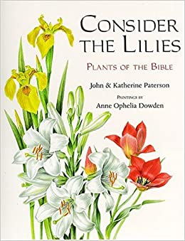Consider the Lilies: Plants of the Bible: John Paterson, Katherine