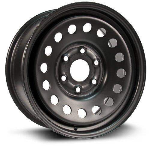 Steel Rim 17X7.5, 6x139.7, 78.1, +30, black finish (MULTI APPLICATION FITMENT) X99147N (2015 Chevy Silverado Rims compare prices)