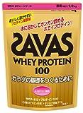 ザバス ホエイプロテイン100ストロベリー風味 1kg