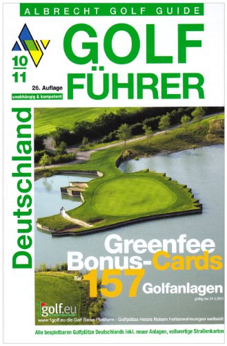 Golf Führer Deutschland 2010/2011: Handbuch