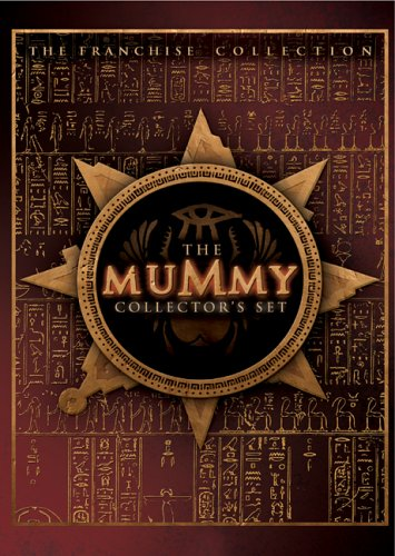 The Mummy Box Set - and detail of box