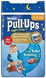 Huggies Pull Ups Nightime Potty Training Pants for Boys Small 8 15 kg 14 x 3 Packs 42 Pants