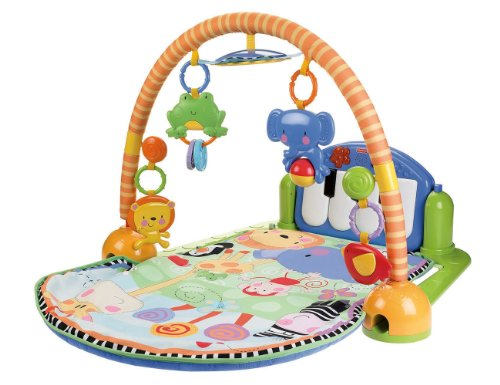 N Fisher-Price Discover &#39;Grow Kick & Play Piano Gym