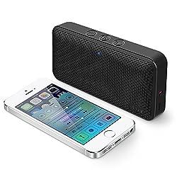 iLuv Aud Mini Portable Bluetooth Speakers (Black)