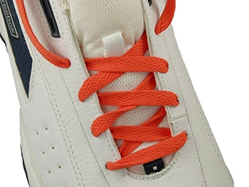 45 Neon Orange 5/16 Flat Shoelace For All Basketball Shoes 45 neon orange 5 16 flat shoelace for all basketball shoes