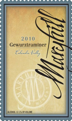 2010 Maryhill Winery Columbia Valley Gewürztraminer 750 Ml