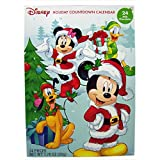 2016 Christmas Advent Holiday Countdown Calendar with 24 Milk Chocolates (Disney Mickey Mouse and Friends)