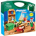 PLAYMOBIL Santa's Workshop Carrying Case Playset