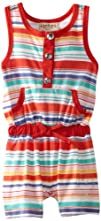 Carters Watch the Wear Baby-Girls Infant Romper With Stripes