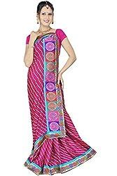 Kala Sanskruti Art Silk Saree (KSA3X-33_Pink)