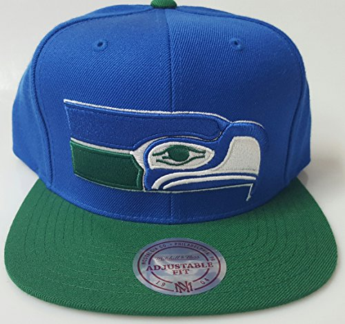 New-Seattle-Seahawks-Blue-Green-Mitchell-Ness-Snapback-Hat
