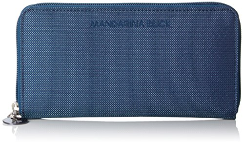 Mandarina Duck 16216PN1495, Portafoglio Donna, Viola (Blueberry 495), 21x2x11 cm (B x H x T)