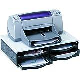 Fellowes 24004 Büromaschinen-Ständer mit 4 Schubladen und Kabelmanagement