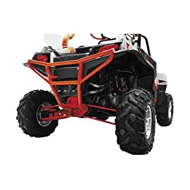 Dragonfire Racing Racepace Cage Accessory Series - Polaris Ranger 800 RZR/S/4 / 900 XP/4 - All Years - 'Smash' Rear Bumper - Red - DFR-2TRRB-R