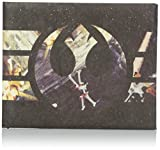 Dynomighty Men's Mighty Wallet Rebel Logo with X-Wings, Multi, One Size