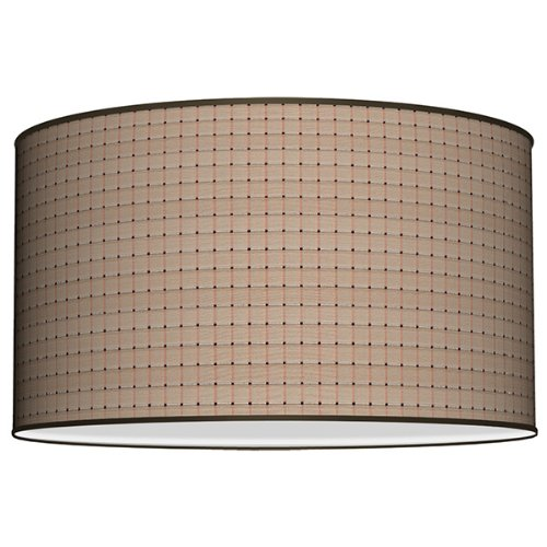 Reviews Seascape Lamps Empire Lamp Shade Texture Silk Beige Squares Bookereew