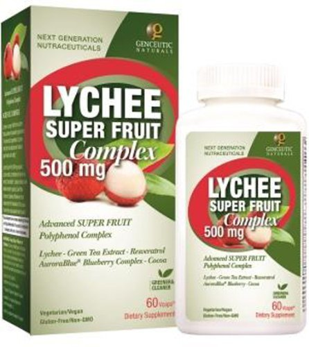 Lychee Super Fruit With Green Tea + Resveratrol 500Mg ( Multi-Pack)