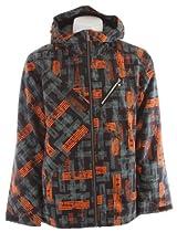Ride Kent Snowboard Jacket Worn Out Print Mens Sz S