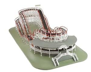 wooden back yard roller coaster car interior design