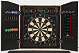 Halex 69805-MAP Cricket View 5000 Dartboard in Wood Cabinet (Maple Finish)