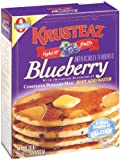 Krusteaz Blueberry Pancake Mix, 28-Ounce Boxes (Pack of 4)