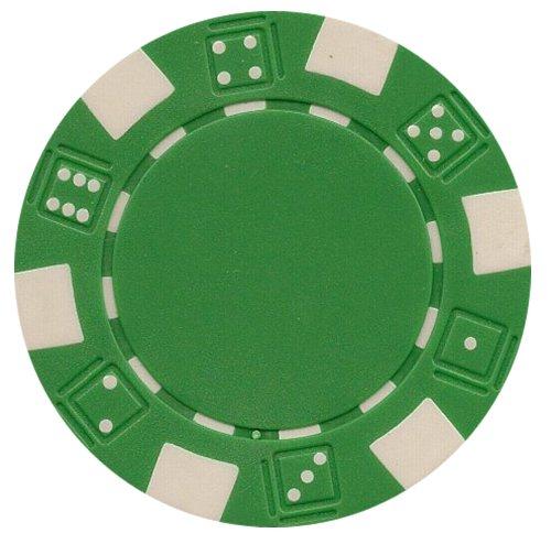 Best Price Da Vinci 50 Clay Composite Dice Striped 11.5-Gram Poker Chips
