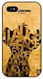 iPhone 6 Laugh in the face of danger - black plastic case / Walt Disney And Life Quotes, king, the lion
