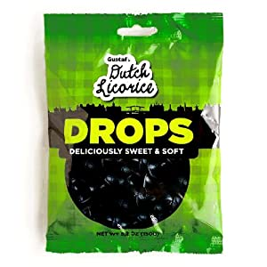 Gustafs Dutch Licorice Drops (2 Unit Per Order) - Perfect Christmas Gift for the Holidays