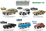 Hollywood Series / Release 12, 6pc Diecast Car Set 1/64 by Greenlight 44720 SET