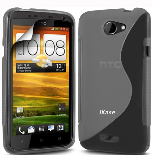 Jkase Premium Quality Htc One S (T-Mobile) Streamline Tpu Case Cover - Grey In Jkase Retail Packaging