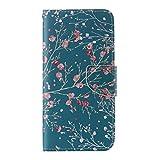UNEXTATI Galaxy Note 5 ケース 高品質 合皮レザー ケース 手帳型ケース カバー カードホルダー 付き スタンド 防塵 防水 Samsung Galaxy Note 5ケース Case (P15 グリーン)