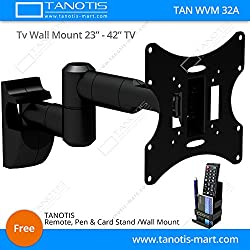 Imported LCD / LED TV Corner Swivel Tilt Wall Mount Bracket VESA Compliant supports 17
