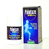 PainEaze SPORT Roll On for Sporting Injury, Sprains & Pulled Muscles - 100% Natural Ingredients