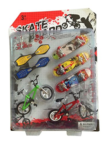 Remeehi-Party-Favors-Educational-Finger-Toy-Mini-Finger-Sports-SkateboardsBikesSwing-Board-with-Endoluminal-Metallic-Stentssend-components-and-parts
