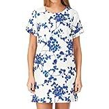 Joules Inaya Dress - Cream/ Navy