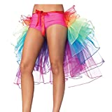 NAVA Organza Teen & Adult Rainbow Carnival or Party Bustle