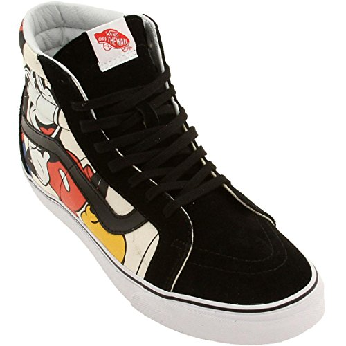 Vans SK8-HI Reissue Disney Mickey Friends Black Unisex Sneakers VN-0ZA0GHE