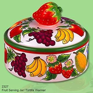 FRUIT SERVING JAR OR TORTILLA KEEPER